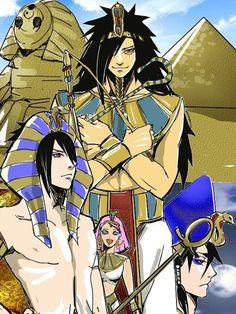 sasuke uchiha, sakura haruno, and madara uchiha image