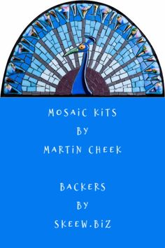 Mosaic Kits for all levels. Martin makes the fused pieces, Skeew sells the Backers for these kits. Great fun! Learn more! Mosaic Kits, Mosaic Ideas, Mosaic Glass, Fused Glass, Art Crafts, Arts And Crafts, Cool Things To Make, How To Make, Number Two