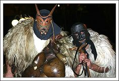 "Ottana ""merdules"" masks Feast of St. Anthony Abbot"