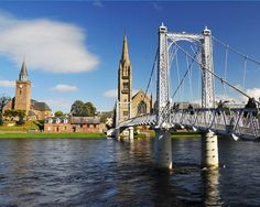 Inverness, Scotland.  Beautiful.  Wonderful place to spend the spring.