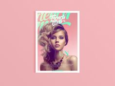 French Miss Magazine on Behance