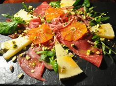 Bresaola, Manchego and Blood Orange Salad | A Cookbook Collection