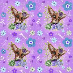 Garden Fox - Pattern | Art Licensing©Sheena Pike Artwork by Canadian Illustrator . the Artwork on this board is ©Copyright of Sheena Pike any selling reproducing or claiming of my work as their own without my permission will result in legal action. The artwork in my gallery and on this board are the property of Sheena Pike for licensing inquiries contact my agent at artlicensing.com #artlicensing #pattern #cuteillustrations #woodland #Fox #Flowers #nursery