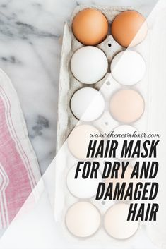 Hair Mask For Dry And Damaged Hair. click to read more or pin for later #haircarefordamagedhair,