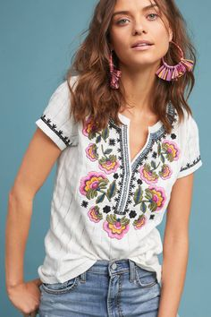 Shop the Dandelion Embroidered Top and more Anthropologie at Anthropologie today. Read customer reviews, discover product details and more.