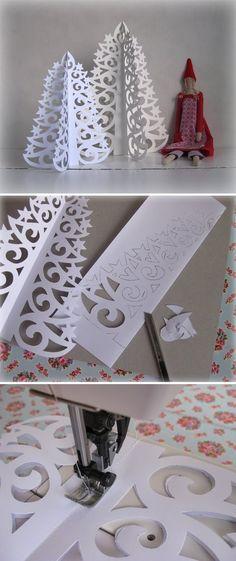 Sapin en papier/Fir paper