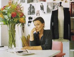 Phoebe Philo designer of Celine- my fashion icon. Exceptional style, brilliant business woman, and a family woman. She took a few years off work after leaving Chloe to stay at home with her kids, then came back to work for Celine. She has her priorities straight, and is great at what she does. Role model. You can do it all.