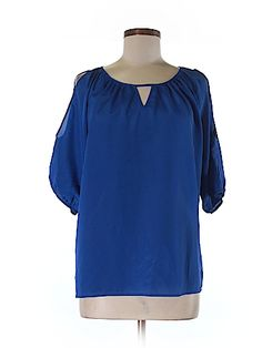 Express Women Short Sleeve Blouse Size M