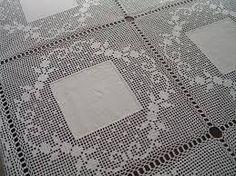 toalhas de mesa de jantar em croche ile ilgili görsel sonucu