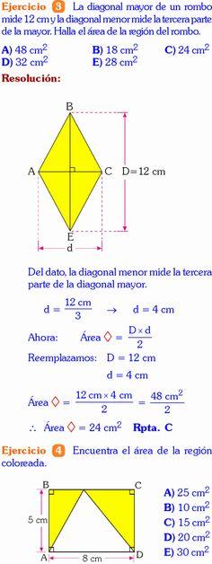 Perímetros Y áreas De Regiones Sombreadas Ejercicios De Geometria De Sexto De Primaria Rubiños Pdf Mathematics Geometry Trigonometry Math
