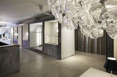Luceplan and Modular Lighting Instruments Showroom by Amedeo G. Cavalchini, New York City » Retail Design Blog