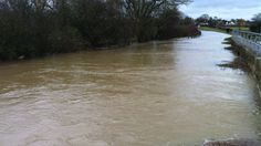 Bedford 2012 - River levels are rising around Bedford and are expected to continue to increase for 24 hours, the Environment Agency warns.
