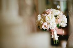 """Wedding Photography Inspiration """"Getting Ready""""    Picture    Description  pink and white bouquet 