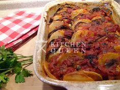 Ρατατούι - Συνταγές Kitchen Queen Pork, Meat, Pork Roulade, Pigs, Pork Chops