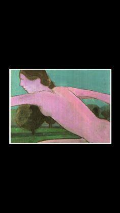 """William Theophilus Brown -  """" Picnic """", 1962 - Oil on masonite - 30,5 x 40,6 cm"""