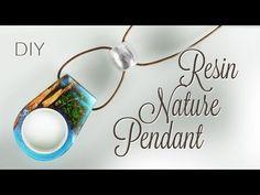 DIY 2 in 1 Resin Nature Pendant & Ring - YouTube