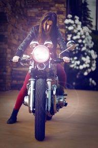 Biker chick or Biker Girl?