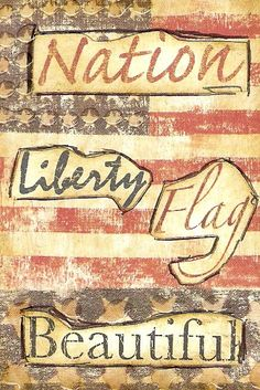 2nd ATC, celebrating the 4th from Dawn in MI.