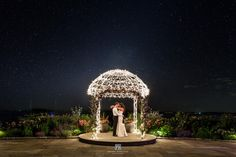 Gorgeous wedding photo: 15 sec exposure, f9, iso100