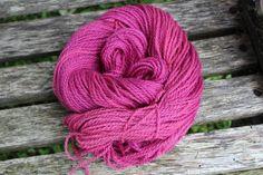 Yarn wool 200 yd skein  Raised in Maine Worsted by FibahForEwe