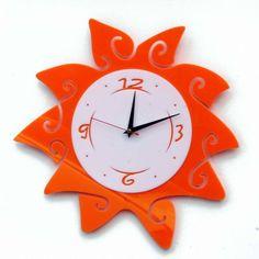"""Часы """"Солнце"""" 40х40см, фото 1 - Magic Moments - Оригинальные подарки для детей и взрослых. Наборы для изготовления слепков детск"""