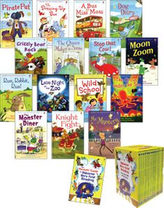 Usborne Books offer a great selection of early reader books for kindergartners and first graders who are learning to read. The quality is exceptional.