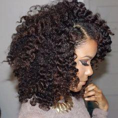 Stunning #twistout #naturalhair  For origin see Neno Natural Pinterest  http://www.nenonatural.com/freeinfo.html  #curlyhair #kinkyhair #nenonatural #vlogger #blogger #hairblogger #Padgram