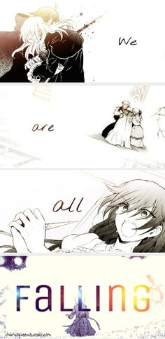 """We are all falling..."" 