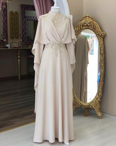 51 ideas for dress long muslim modest fashion Source by dresses hijab Source by FashionTipsAndAdvice dresses ideas Modest Dresses, Modest Outfits, Modest Clothing, Dress Outfits, Prom Dresses, Bridesmaid Dress, Clothing Ideas, Muslimah Wedding Dress, Muslim Wedding Dresses