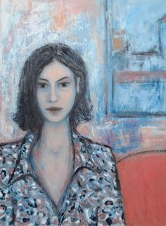 "Saatchi Online Artist Massimiliano Ligabue; Painting, ""Rainy day portrait"" #art"