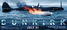 Dunkirk - new movie poster and extended TV spot -> https://teaser-trailer.com/movie/dunkirk/ #Dunkirk #DunkirkMovie #WorldWarII