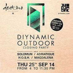 Dyinamic Outdoor - Destino Ibiza. Design Adaptations for print and web By Maximiliano Guzmán Wilkendorf