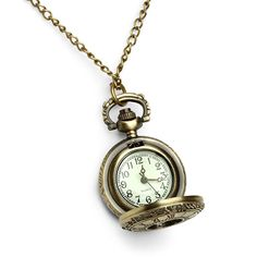 Victorian Pocket Watch Pendant from ThinkGeek. Saved to Epic Wishlist. Shop more products from ThinkGeek on Wanelo. Cartier, Baroque, Pocket Watch Necklace, Initial Jewelry, Jewelry Necklaces, Jewellery, Heart Shaped Necklace, Renaissance, Jewelry Collection