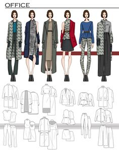 47 ideas for fashion design sketches portfolio behance Fashion Portfolio Layout, Fashion Design Sketchbook, Fashion Design Portfolio, Fashion Illustration Sketches, Fashion Design Drawings, Fashion Sketches, Drawing Fashion, Dress Sketches, Design Illustrations