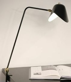 Serge Mouille   Agrafee Desk Lamp Modern Lighting Options From Serge Mouille  Are The Top Tier Of Design When It Comes To Mid Century Light Fixtures