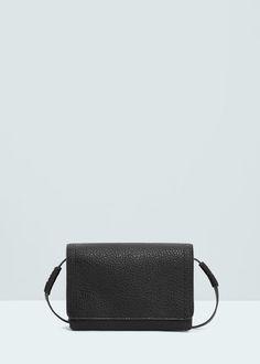 Pebbled cross-body bag - Bags for Woman   MANGO United Kingdom