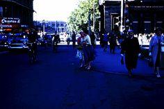 1956 Colombo Square Terrace Christchurch New Zealand, Wwii, Terrace, Street View, Australia, Balcony, World War Ii, Patio, Decks