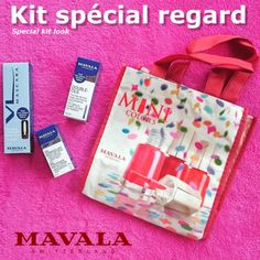 MAVALA-Kit-special-regard-Double-cils-mascara-NOIR-gel-demaquillant-sac