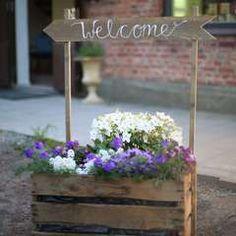 Old style blomsterlådor & skyltar - Panduro Hobby