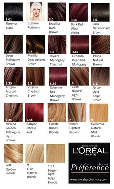 Feria Hair Color Red Brown Colors Cool
