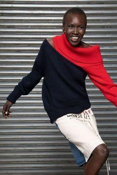 Monse Resort 2019 Fashion Show Check more at knitted. Monse Resort 2019 Fashion Show Check more at knitted. Knitwear Fashion, Knit Fashion, Fashion Week, Look Fashion, Urban Fashion, Fashion Details, Fashion Outfits, Fashion Trends, Fashion Art