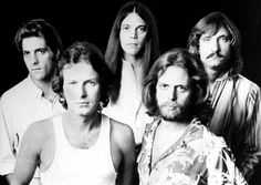 Don Felder with the Eagles in the '70s (from l.: Glenn Frey, Don Henley, Timothy B. Schmit, Felder and Joe Walsh)  > (DAILY NEWS STAFF )