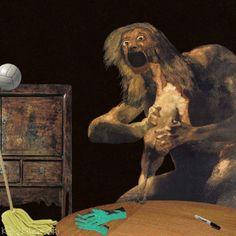 Masterpiece Mashups: Classic Art Gets the GIF Treatment