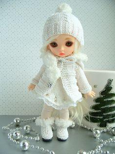 Снежинка. PukiFee Luna, Fairyland. / Одежда, обувь, аксессуары для шарнирных кукол БЖД, BJD / Бэйбики. Куклы фото. Одежда для кукол