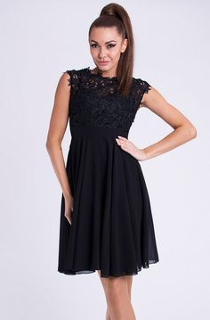 EVA & LOLA DRESS BLACK 26012-2
