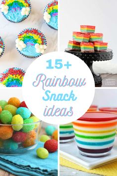 Everyday Party Magazine is sharing the 15 Best Rainbow Food Recipes, and they are perfect for St. Paddy's Day or even Rainbow Unicorn celebrations. #RainbowFood #RainbowRecipes #StPatricksDayFood #StPaddysDay
