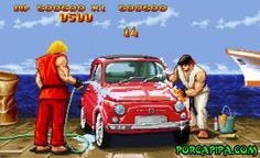 Fase oculta do Street Fighter
