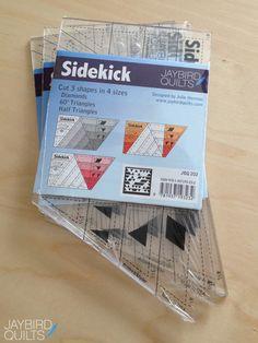 Introducing the Sidekick! | Jaybird Quilts #sidekickruler