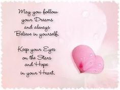 #dreams and your #heart