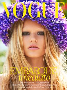 anna ewers mariano shoot12 Anna Ewers Channels 60s Bombshell for Vogue Brazil by Mariano Vivanco